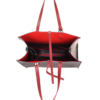 Esmeralda zwart rood binnenkant
